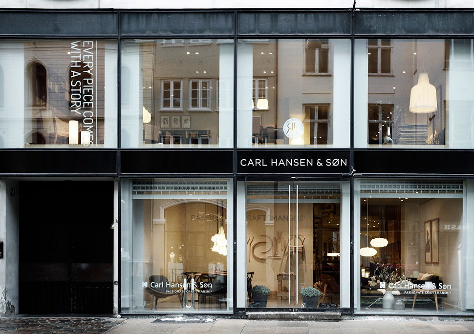 FLAGSHIP STORE COPENHAGEN. Carl Hansen U0026 Søn Design Furniture